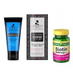 promocion biotina y balsamo mel bros