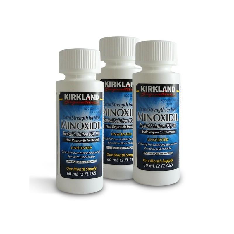 minoxidil kirkland liquido 3 meses precio mexico